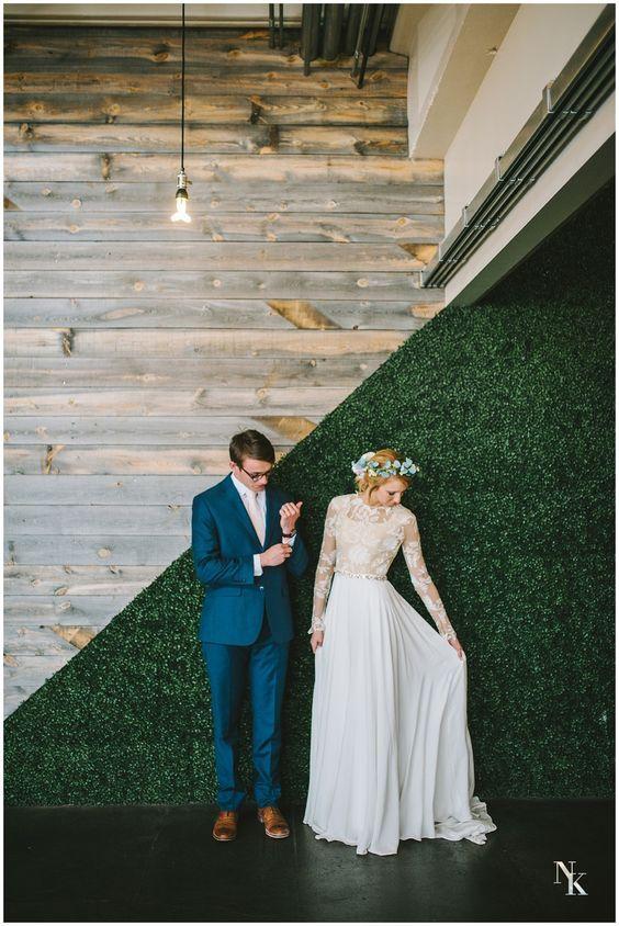 Svadobné šaty s dlhými rukávmi - Obrázok č. 10
