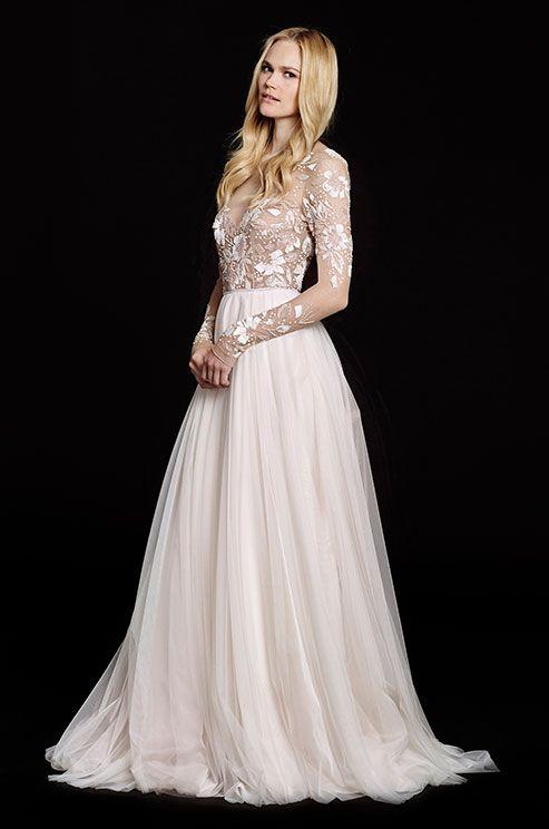 Svadobné šaty s dlhými rukávmi - Obrázok č. 17