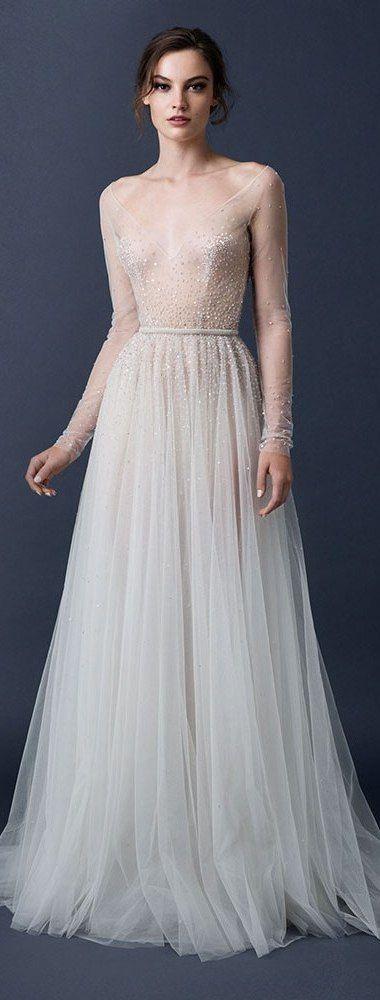 Svadobné šaty s dlhými rukávmi - Obrázok č. 18