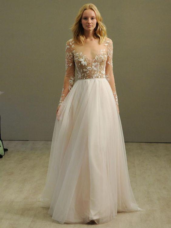 Svadobné šaty s dlhými rukávmi - Obrázok č. 20