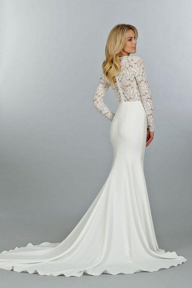 Svadobné šaty s dlhými rukávmi - Obrázok č. 26