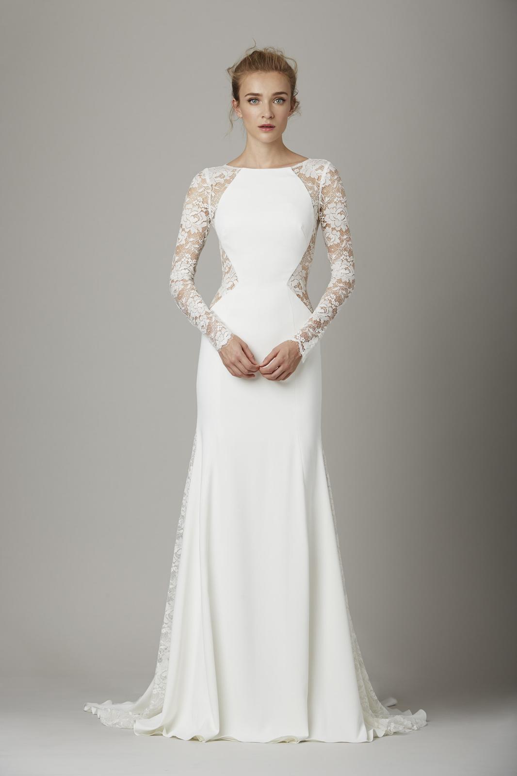 Svadobné šaty s dlhými rukávmi - Obrázok č. 32