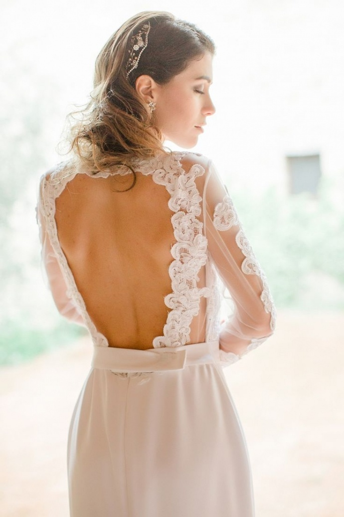 Svadobné šaty s dlhými rukávmi - Obrázok č. 50