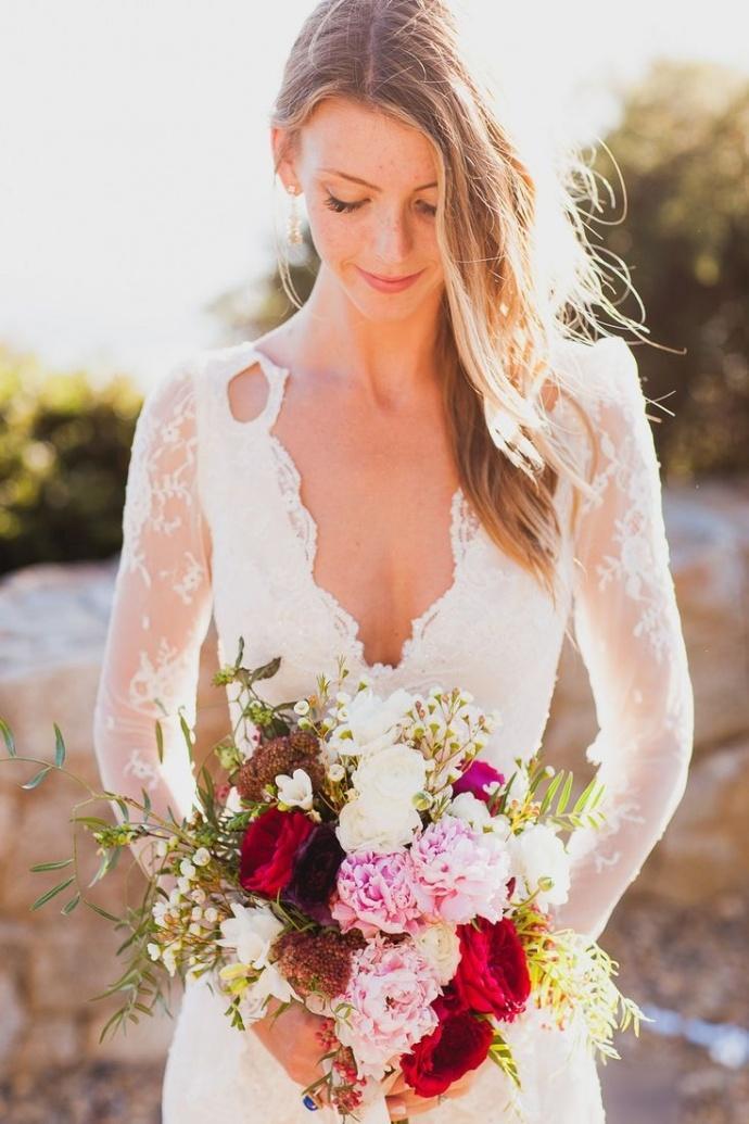 Svadobné šaty s dlhými rukávmi - Obrázok č. 53