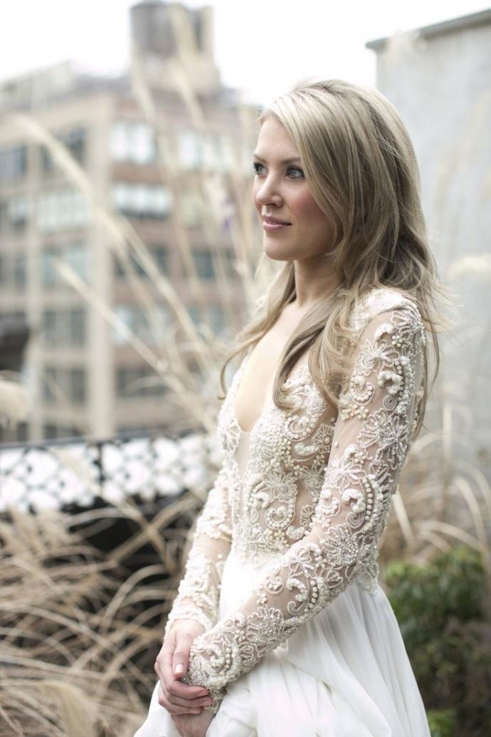 Svadobné šaty s dlhými rukávmi - Obrázok č. 54