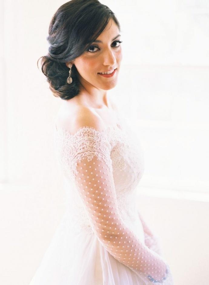 Svadobné šaty s dlhými rukávmi - Obrázok č. 55