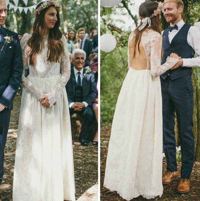Svadobné šaty s dlhými rukávmi - Obrázok č. 65