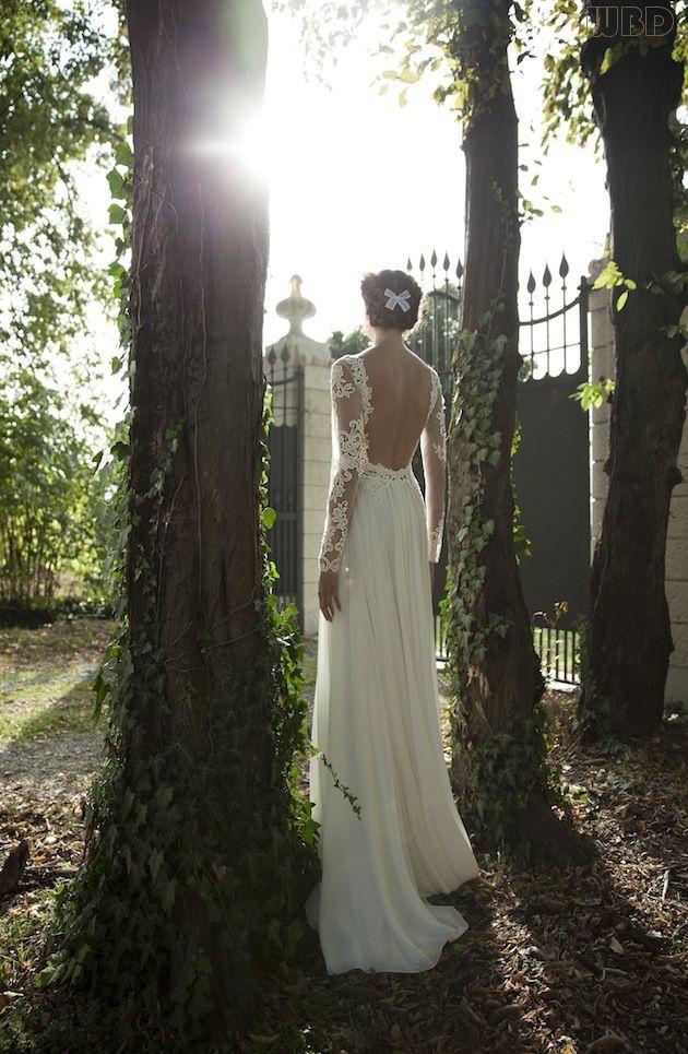 Svadobné šaty s dlhými rukávmi - Obrázok č. 69