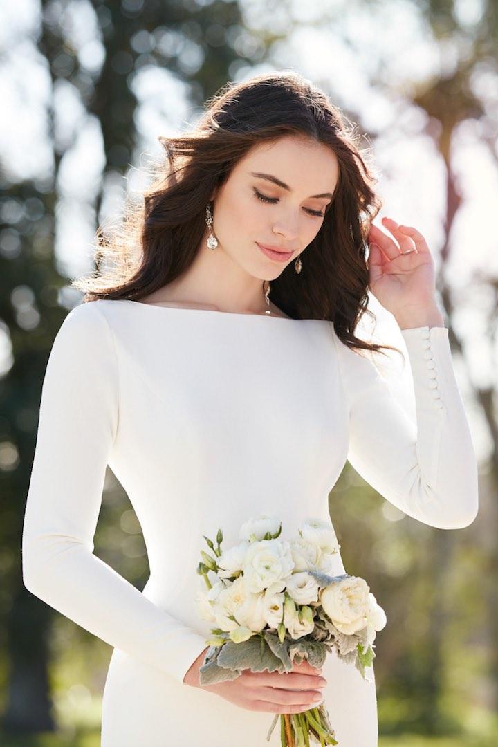 Svadobné šaty s dlhými rukávmi - Obrázok č. 72