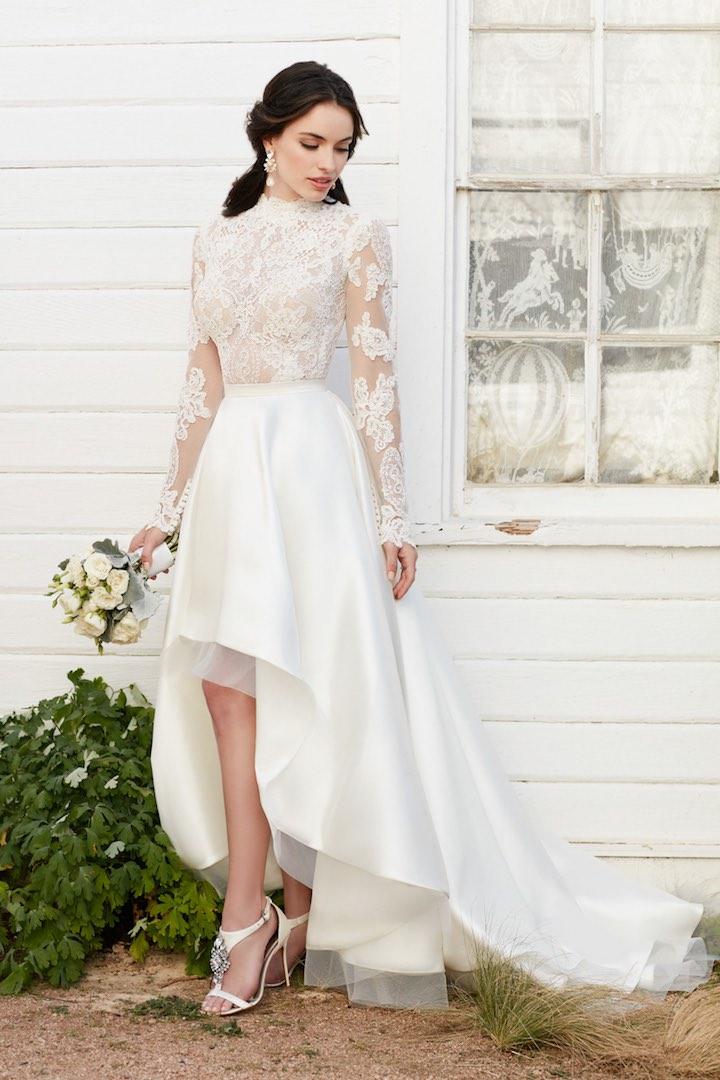 Svadobné šaty s dlhými rukávmi - Obrázok č. 73