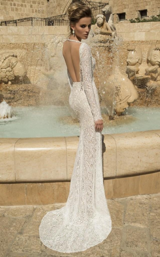 Svadobné šaty s dlhými rukávmi - Obrázok č. 74