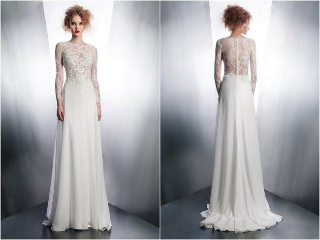 Svadobné šaty s dlhými rukávmi - Obrázok č. 75