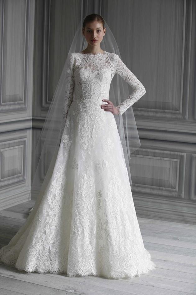 Svadobné šaty s dlhými rukávmi - Obrázok č. 80