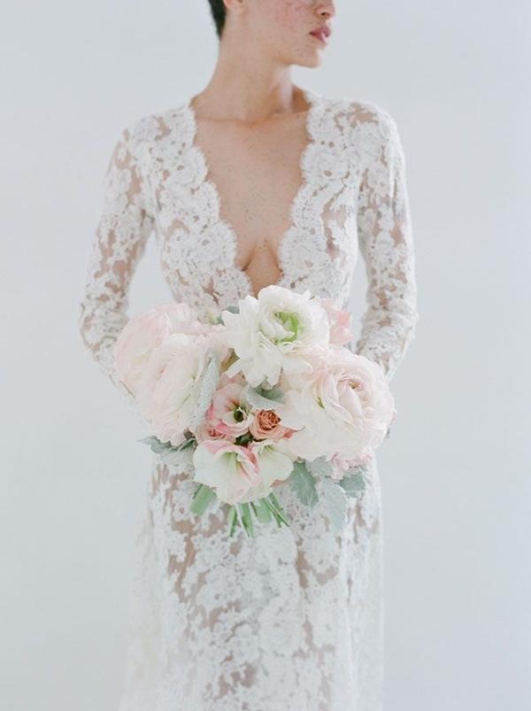 Svadobné šaty s dlhými rukávmi - Obrázok č. 83
