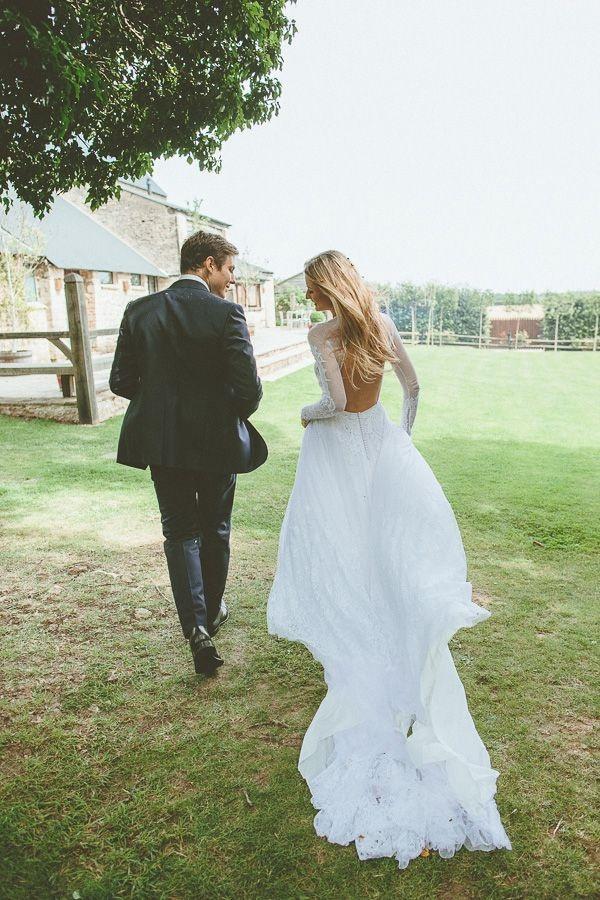 Svadobné šaty s dlhými rukávmi - Obrázok č. 86