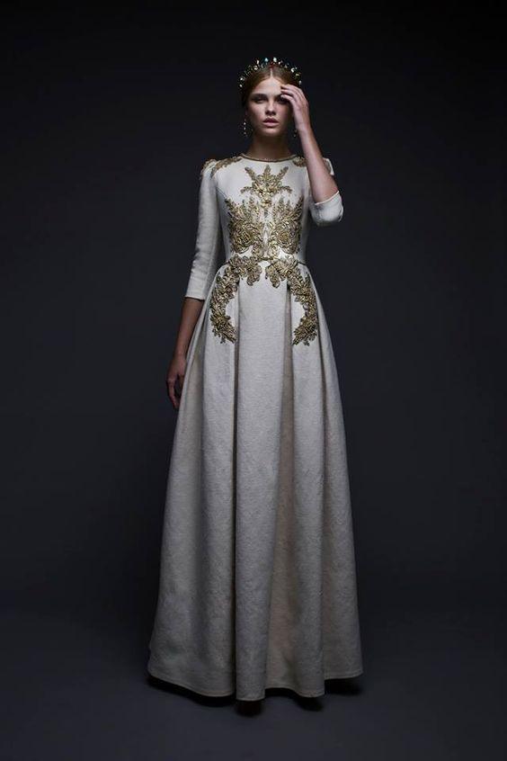 Svadobné šaty s dlhými rukávmi - Obrázok č. 87