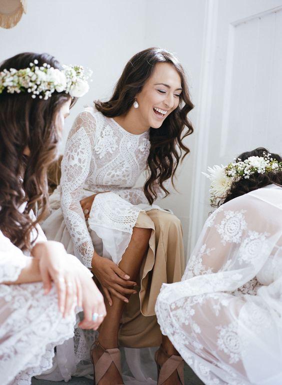 Svadobné šaty s dlhými rukávmi - Obrázok č. 98