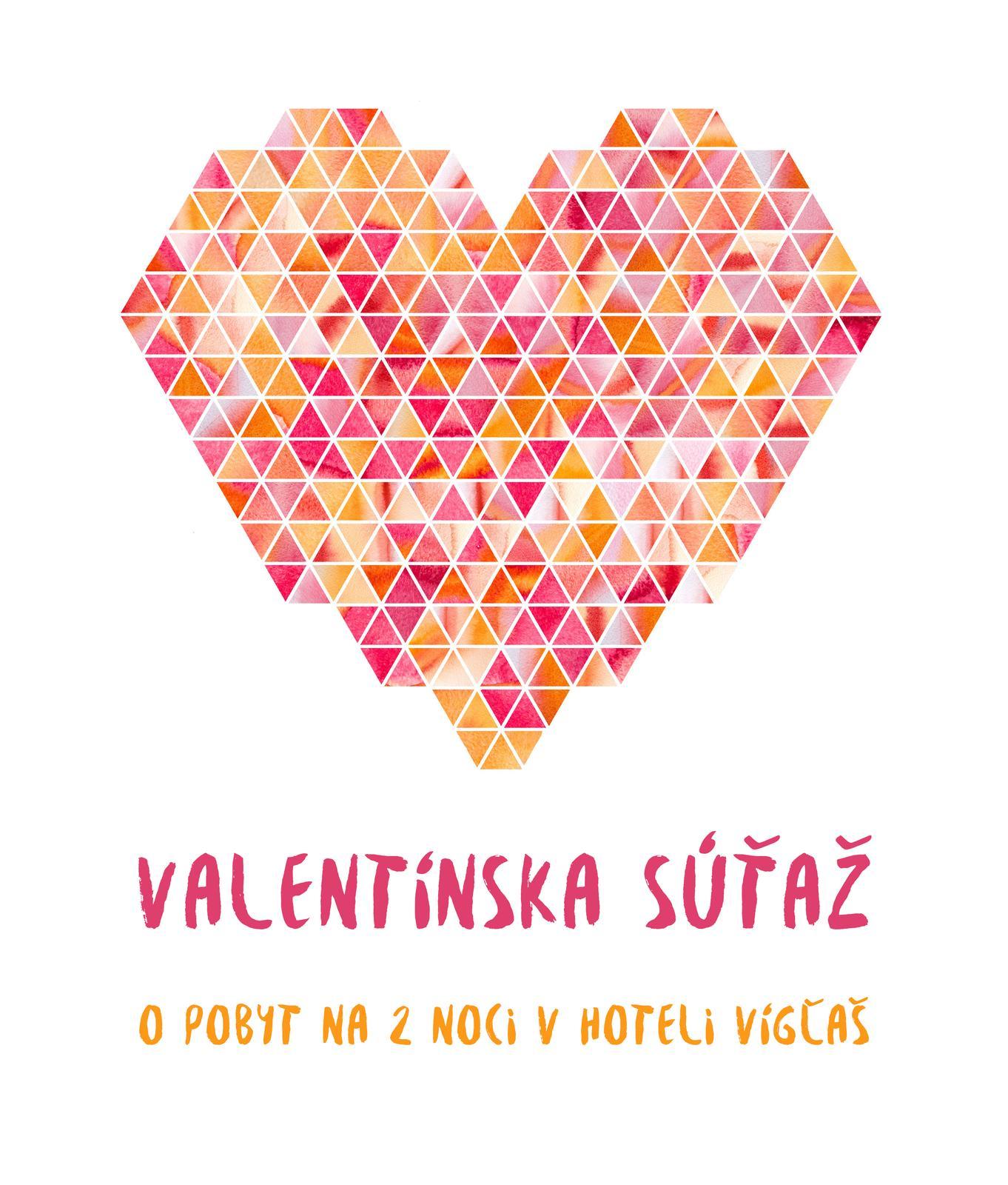 SÚŤAŽ: Odfoťte, ako ste s partnerom oslávili Valentína alebo akým valentínskym darčekom vás partner potešil, pridajte fotku do súťaže tu https://www.mojasvadba.sk/forum/mojasvadba-sk/valentinska-sutaz-vyhrajte-romanticky-pobyt-na-2-noci-v-hoteli-viglas-2/ a vyhrajte pobyt pre 2 osoby na dve noci v hoteli Vígľaš :) fotky môžete posielať až do konca týždňa, takže ak vás oslava čaká až cez víkend, stále to stíhate :) prajem krásny deň, či už Valentína oslavujete alebo nie, nech je plný lásky :) - Obrázok č. 1