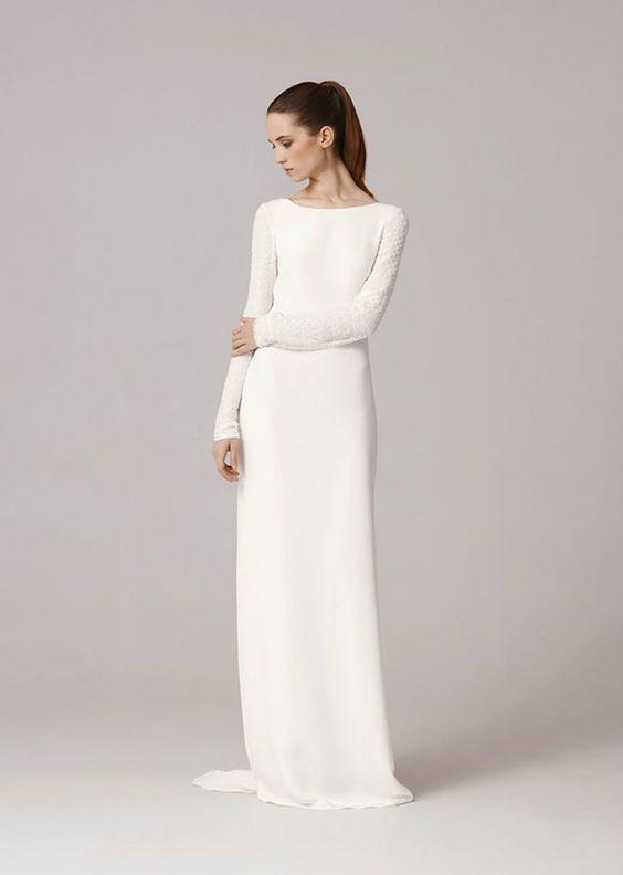 Tak jednoducho, ako sa len dá (minimalizmus v svadobných šatách) - Obrázok č. 3
