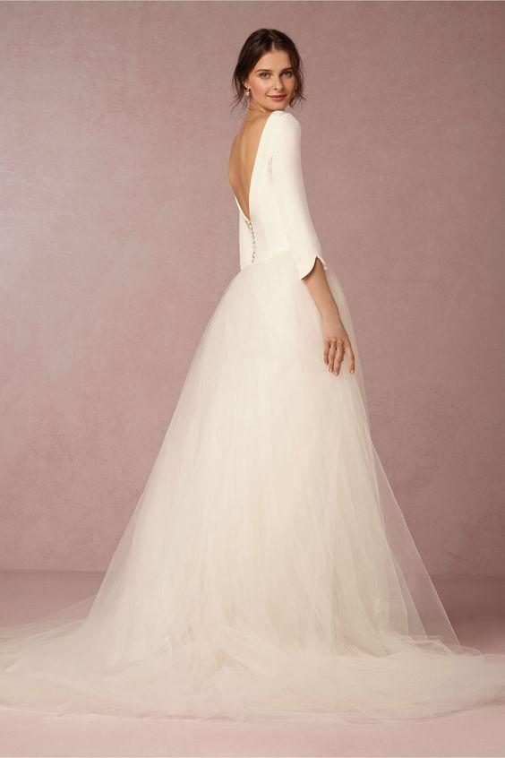 Tak jednoducho, ako sa len dá (minimalizmus v svadobných šatách) - Obrázok č. 5