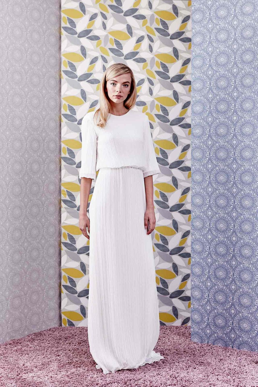 Tak jednoducho, ako sa len dá (minimalizmus v svadobných šatách) - Obrázok č. 6