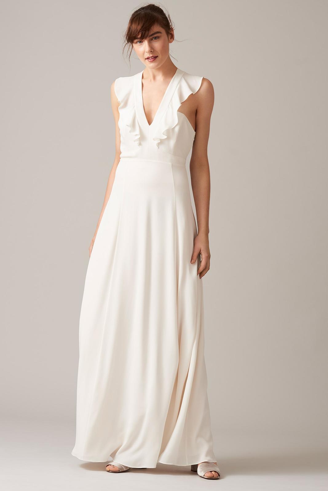 Tak jednoducho, ako sa len dá (minimalizmus v svadobných šatách) - Obrázok č. 7