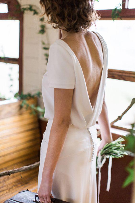 Tak jednoducho, ako sa len dá (minimalizmus v svadobných šatách) - Obrázok č. 11