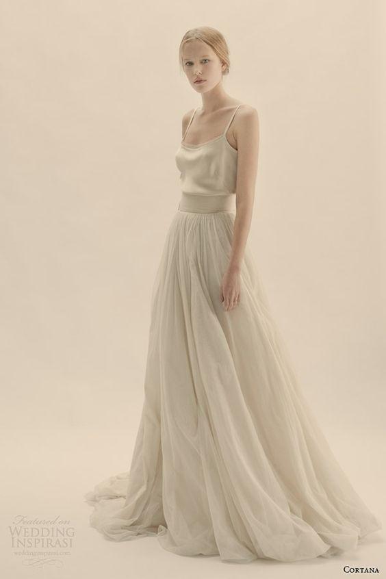 Tak jednoducho, ako sa len dá (minimalizmus v svadobných šatách) - Obrázok č. 12