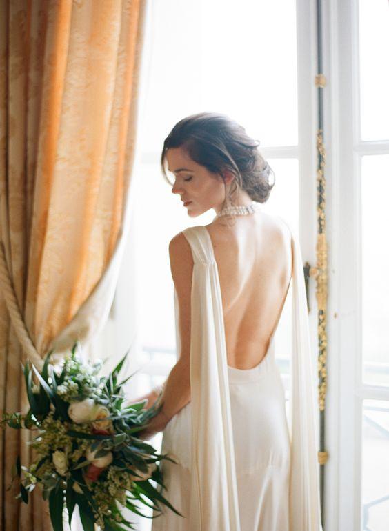 Tak jednoducho, ako sa len dá (minimalizmus v svadobných šatách) - Obrázok č. 13