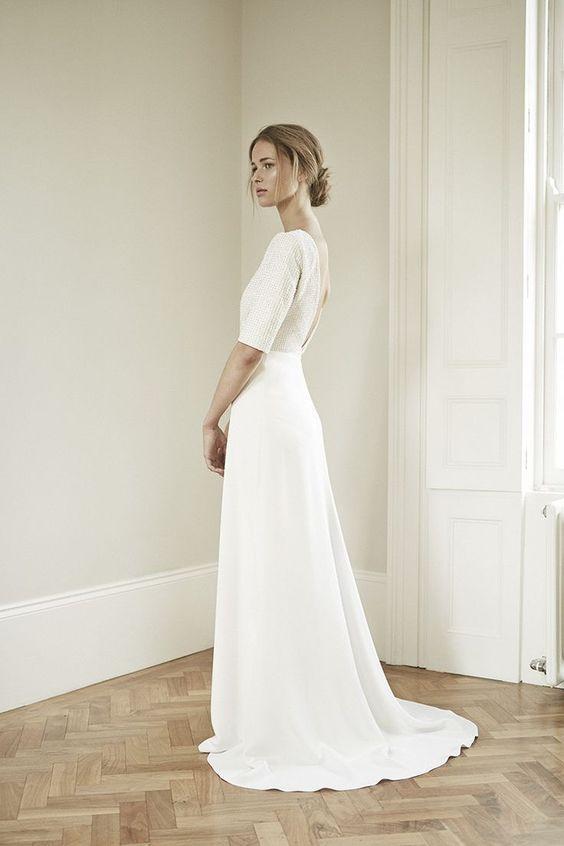 Tak jednoducho, ako sa len dá (minimalizmus v svadobných šatách) - Obrázok č. 16