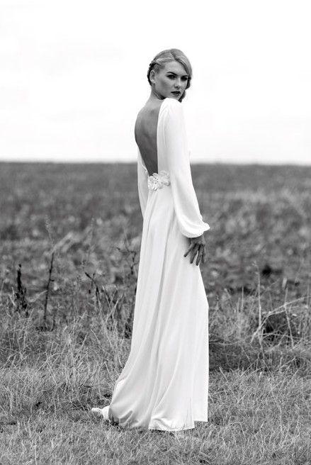 Tak jednoducho, ako sa len dá (minimalizmus v svadobných šatách) - Obrázok č. 17