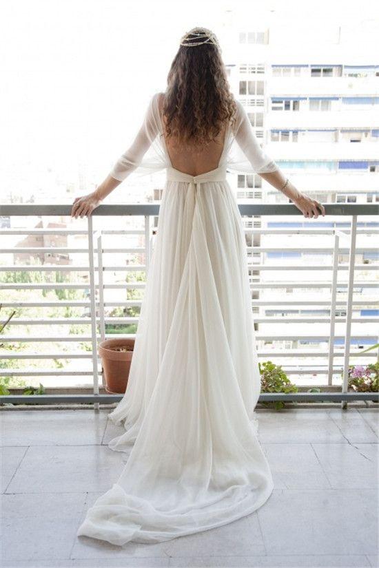 Tak jednoducho, ako sa len dá (minimalizmus v svadobných šatách) - Obrázok č. 18