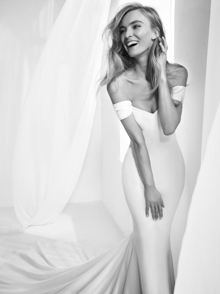 Tak jednoducho, ako sa len dá (minimalizmus v svadobných šatách) - Obrázok č. 20