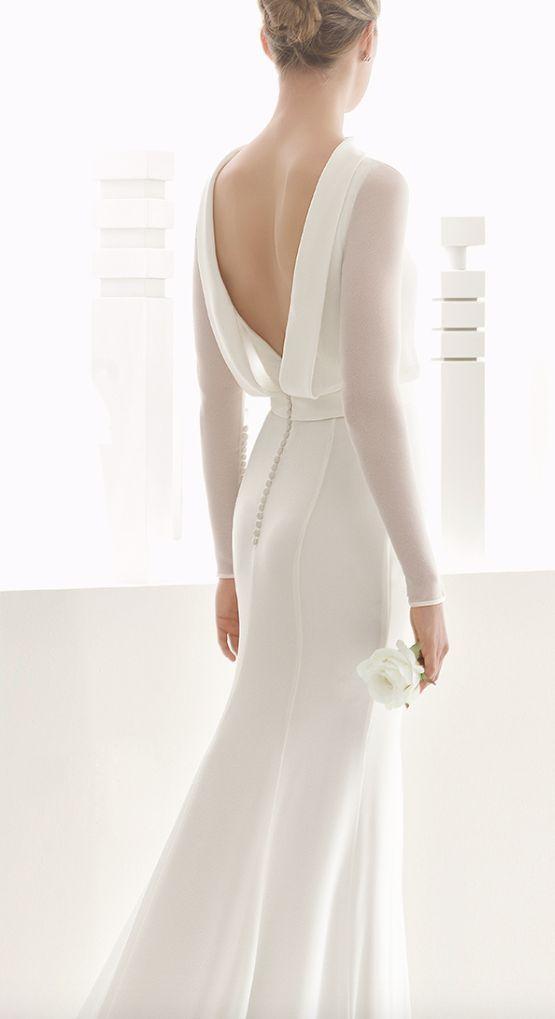 Tak jednoducho, ako sa len dá (minimalizmus v svadobných šatách) - Obrázok č. 29