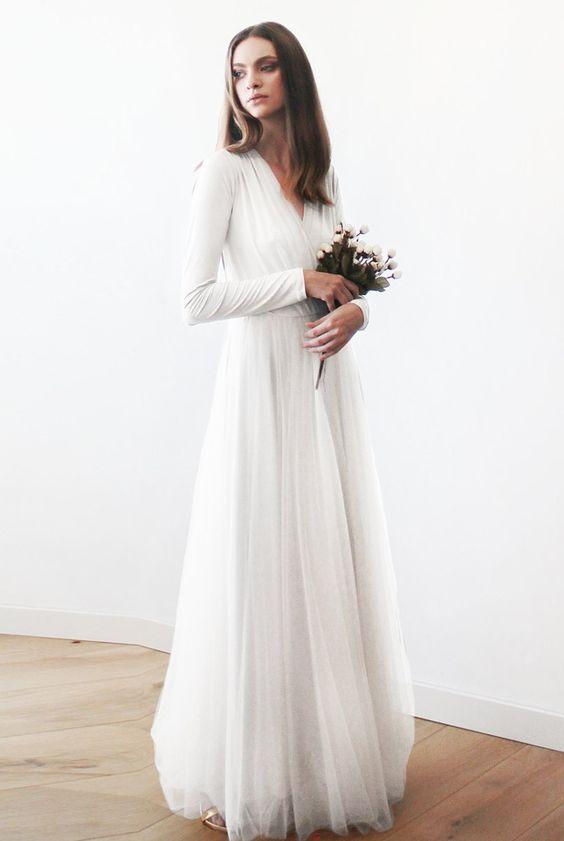 Tak jednoducho, ako sa len dá (minimalizmus v svadobných šatách) - Obrázok č. 32