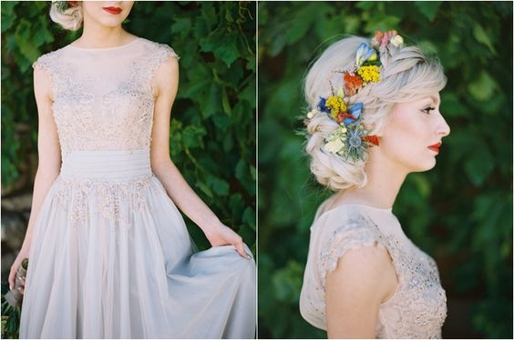 Táto nevesta je krásna! Šaty aj účes, nádhera! :) - Obrázok č. 3