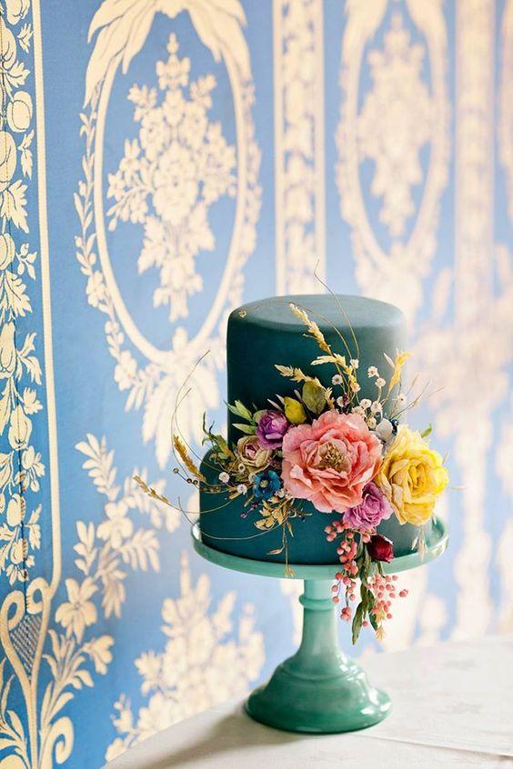 Sladké a pôvabné svadobné torty - Obrázok č. 124