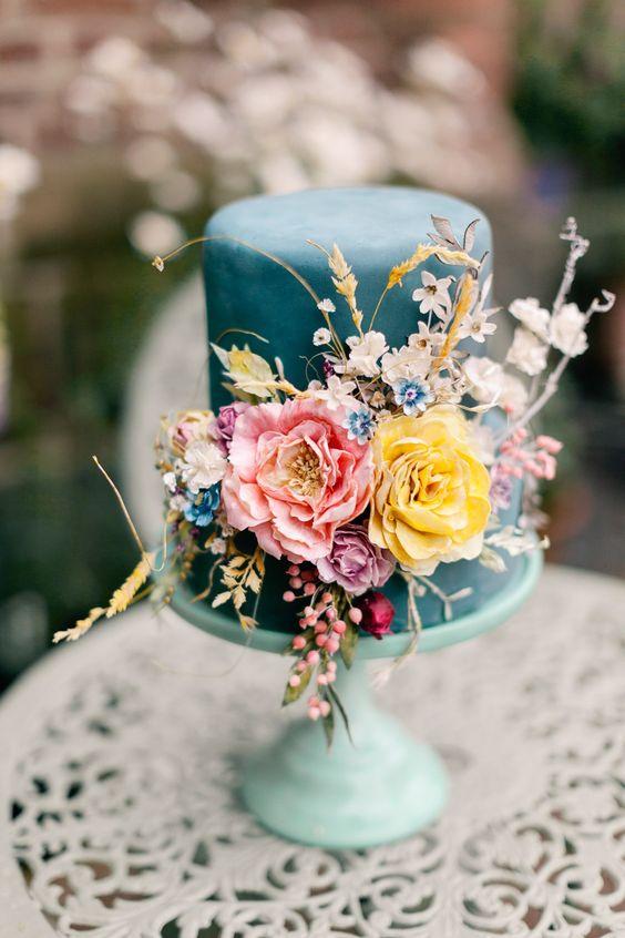Sladké a pôvabné svadobné torty - Obrázok č. 125