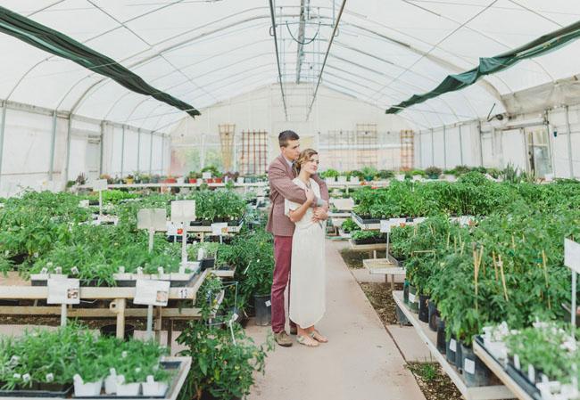 Svadobné fotenie v skleníku - Obrázok č. 19