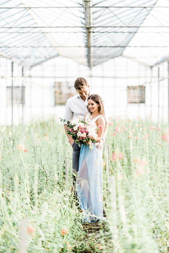 Svadobné fotenie v skleníku - Obrázok č. 15
