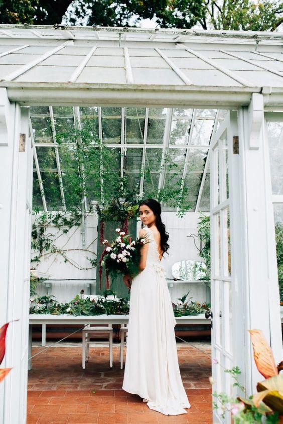 Svadobné fotenie v skleníku - Obrázok č. 83
