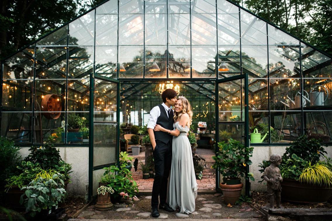 Svadobné fotenie v skleníku - Obrázok č. 96