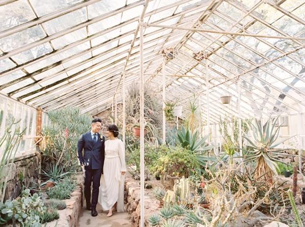Svadobné fotenie v skleníku - Obrázok č. 101