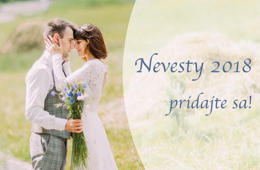Budúcoročné nevesty, už ste v skupine Nevesty 2018? :) https://www.mojasvadba.sk/group/6797/detail/ Pridajte sa k ostatným nevestám, ktoré majú svadbu v rovnakom roku ako vy a zdieľajte spolu svadobné radosti aj starosti :) - Obrázok č. 1