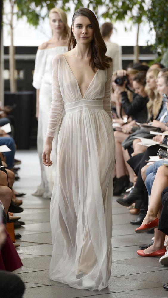 Tak jednoducho, ako sa len dá (minimalizmus v svadobných šatách) - Obrázok č. 35
