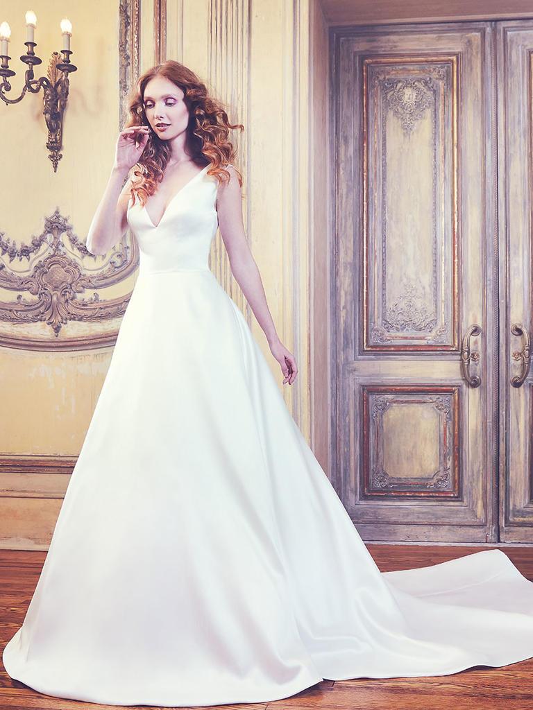 Tak jednoducho, ako sa len dá (minimalizmus v svadobných šatách) - Obrázok č. 40