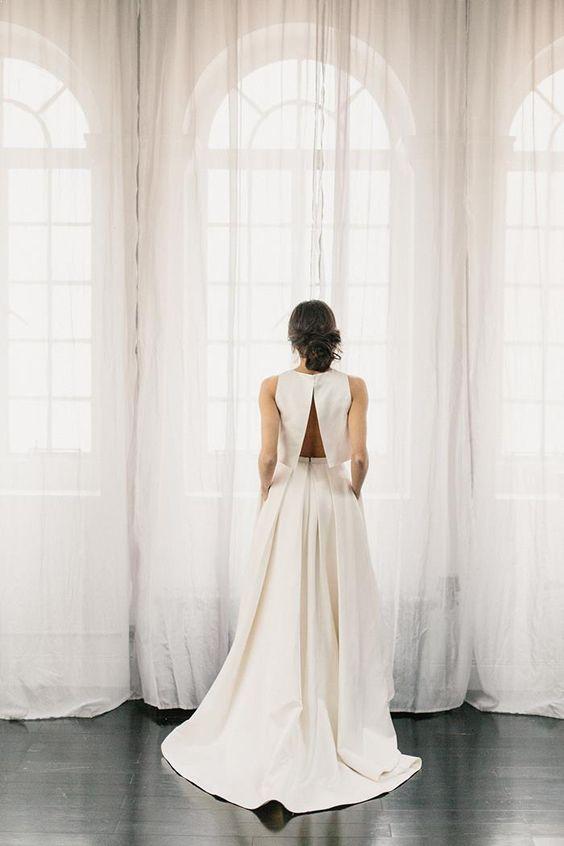 Tak jednoducho, ako sa len dá (minimalizmus v svadobných šatách) - Obrázok č. 43