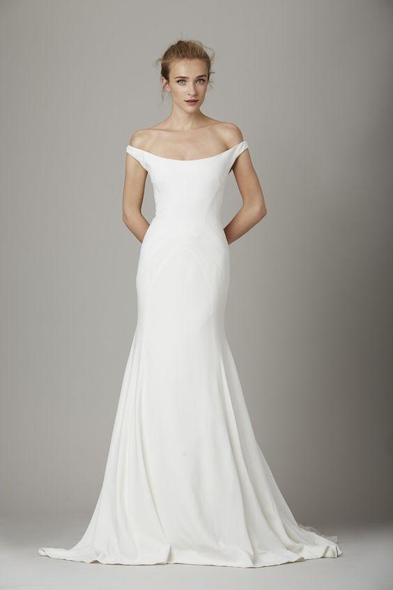 Tak jednoducho, ako sa len dá (minimalizmus v svadobných šatách) - Obrázok č. 44