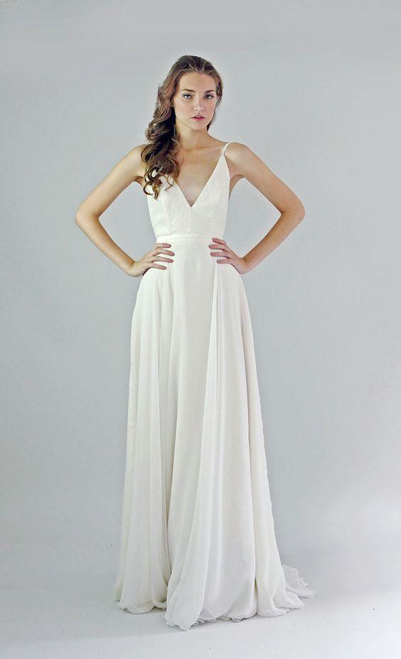 Tak jednoducho, ako sa len dá (minimalizmus v svadobných šatách) - Obrázok č. 45