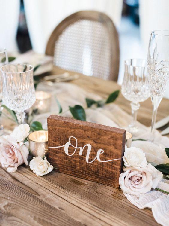 Nápady na číslovanie svadobných stolov - Obrázok č. 9